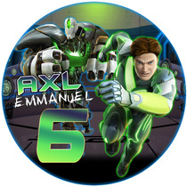 Kit Imprimible Max Steel Candy Bar Digital