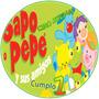 Kit Imprimible Sapo Pepe Y Amigos Invitaciones