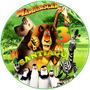 Invitaciones Madagascar Kit Digital Imprimible Cotillón