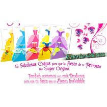 Cajitas 5 Vestidos Princesas + Rapunzel+ 6castillos Armables
