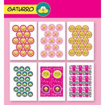 Gaturro! Kit Para Imprimir - Para Nena