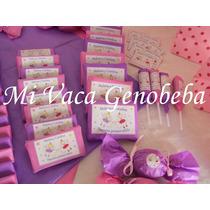10 Chocolatines Personalizados- Candy Bar