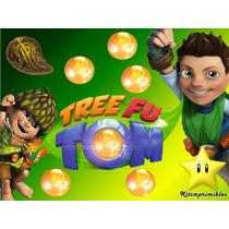 Kit Imprimible Candy Bar Tree Fu Tom Todas Las Golosinas