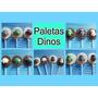 Paleta Chupétin Chocolate Dinos Dinosaurios