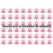 Candy Bar Stickers Personalizados Hoja 44x30 Cm