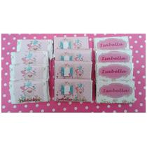 20 Chocolatines Personalizados Nacimiento-bautismo-cumples
