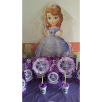 Princesita Sofia - Candy Bar Premium Completo Para 20 Niños
