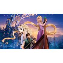 Kit Imprimible Rapunzel Eneredados Tarjetas + Candy Bar 2x1