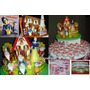 Cupcakes-torta-candy Bar-golosinas- Blanca Nieves Y Enanitos