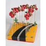 Souvenirs Brochettes Cars Rayo Mac Queen X 12 Unid. + Base