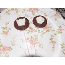 10 Paletas Chocolate Comunión/ Bautismo
