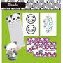 Kit Osito Panda Cotillón Para Imprimir!