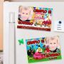 Angry Birds - Souvenirs Cumpleaños 10 Imanes Con Foto Lindos