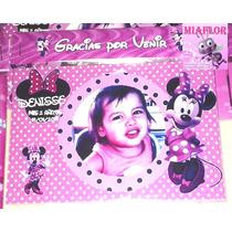 Imanes Personalizados Minnie Souvenirs 14x9cm