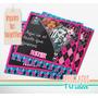 Monster High - Invitación Para Imprimir