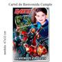 Los Vengadores Avengers Hombre Araña Cartel Cumpleaños Foto