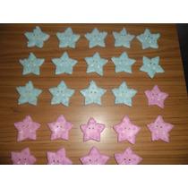30 Estrellas Porcelana Fria Souvenir Bautismo Nacimiento Qui