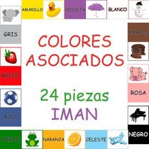 Juego Didáctico Colores Asociados Iman - 24 Piezas