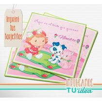 Frutillitas Bebé - Invitación Para Imprimir