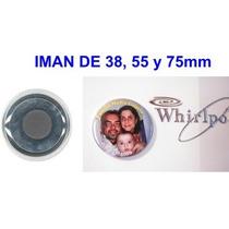 Imanes Souvenir Botones Publicitarios Para Heladera Infantil