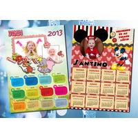 Almanaques Calendarios 2014 Full Color Imán Personalizado