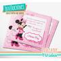Minnie - Tarjetita Para Imprimir