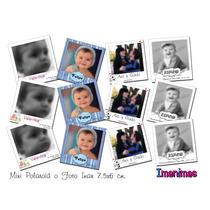 Mini Polaroid , Foto Imanes Personalizados, Tamaño 7,5x6cm