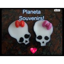Apliques Monster High Porcelana Fiestas Infantiles Souvenirs