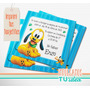 Pluto Bebé - Invitación Para Imprimir
