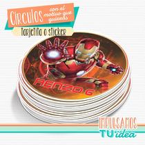 Iron Man - Círculo Multiuso Para Imprimir