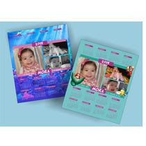 13 Iman 15x13cm Souvenir Personalizado Calendario Sirenita