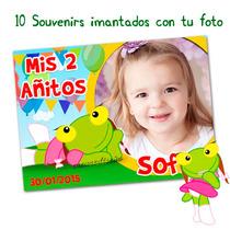Sapa Pepa Cumpleaños 10 Souvenirs Iman Con Tu Foto Divinos