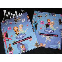 Cuaderno Dibujo Frozen Sofia Cars Spiderman Doc Ju Monster