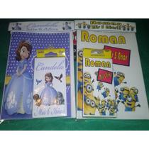 Libritos Personalizados Para Colorear Y Pintar Cumpleaños!!!