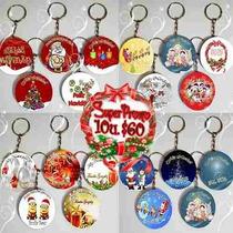 Llavero Navidad Pin X10 Empresarial Navideño Publicitario
