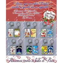 Llavero De Navidad X10 Regalo Empresarial Navideño