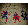 Llaveros Souvenirs Infantil Batman Superman Capitán América