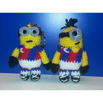 Souvenirs Llaveros Minions San Lorenzo Tejidos Crochet