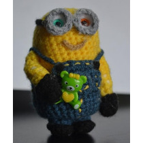 Souvenirs Llaveros Minions Tejidos Crochet