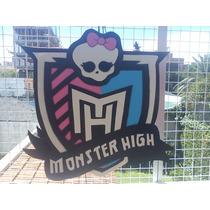 Piñatas En Goma Eva, Monster High, Ochurus
