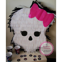 Piñatas Infantiles Monster High,kitty, Mickey, Cofre Piratas