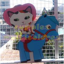 Piñatas En Goma Eva, Callie La Sheriff