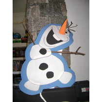 Piñatas Artesanal Goma Eva:olaf Frozen,angry Bird,independie