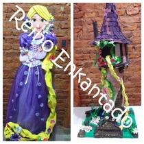 Torre De Rapunzel + Maqueta + Carameleras