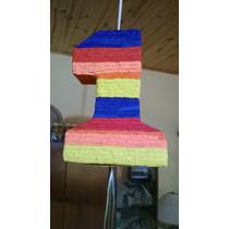 Piñatas Infantiles Tipo Mexicanas Números Del 1 Al 9.
