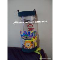 Piñata Lluvia De Globos Animalitos De La Selva