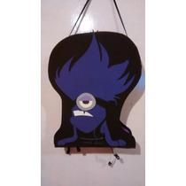 Piñata De Minions Malo Violeta