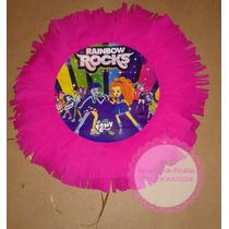 Piñatas P/ Cumpleaños Infantiles:equestria Girl Rainbow Rock