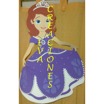 Piñatas Infantilesprincesasofía Mickey Minnie Bebé Vaquita