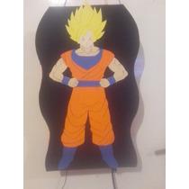 Piñata De Goku ,bolsitas Visceras En Goma Eva .